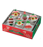 Med. Classic Xmas Reflect Bulb Set