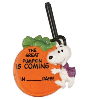 Snoopy Halloween Countdown Magnet