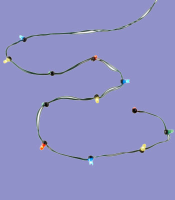 String of 12 Multi-Lights