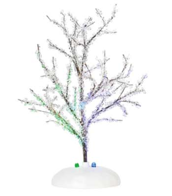 Lit Crystal Tree