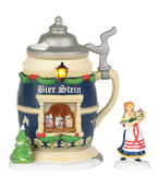Christmas Market, the Bier Stein Booth