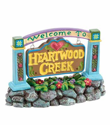 D56/J.Shore, Welcome to Heartwood Creek, Sign