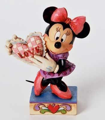 My Valentine Minnie Mouse with Heart