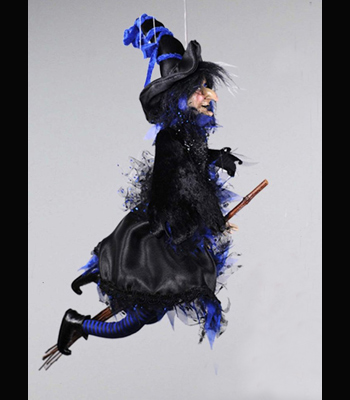 Witch with Broomstick