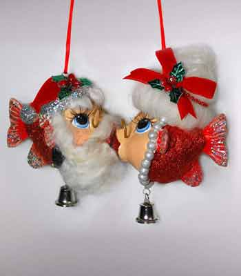 M/M Santa Kissing Fish, S2